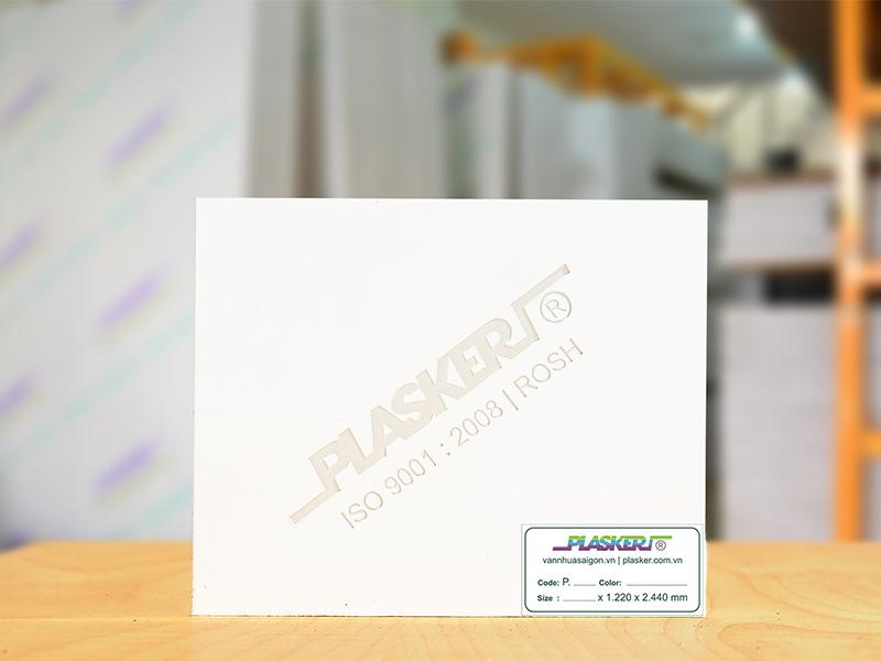 Tấm nhựa PVC Plasker giá rẻ, giá tấm nhựa ốp tường