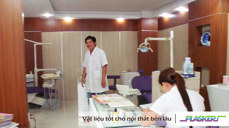 ốp tường nhựa dành cho bệnh viện