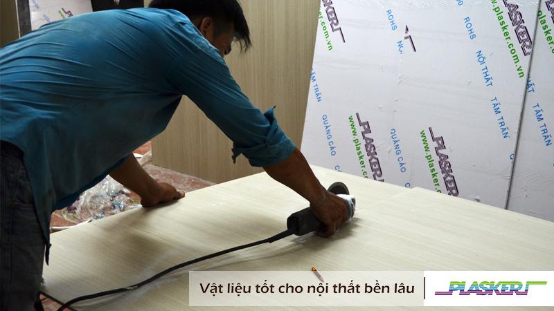 Hướng dẫn thi công tấm nhựa PVC Plasker