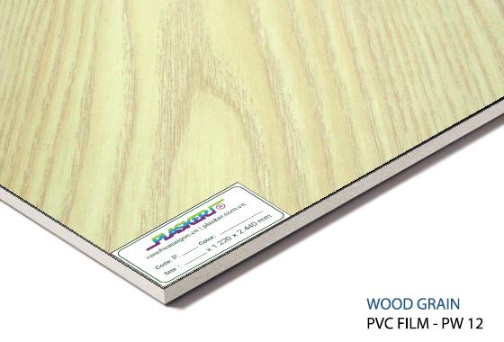 Tấm nhựa vân gỗ pvc PW-12