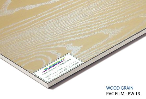 tấm nhựa vân gỗ pvc - PW13