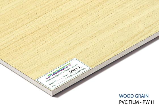 tấm nhựa vân gỗ pvc - PW11