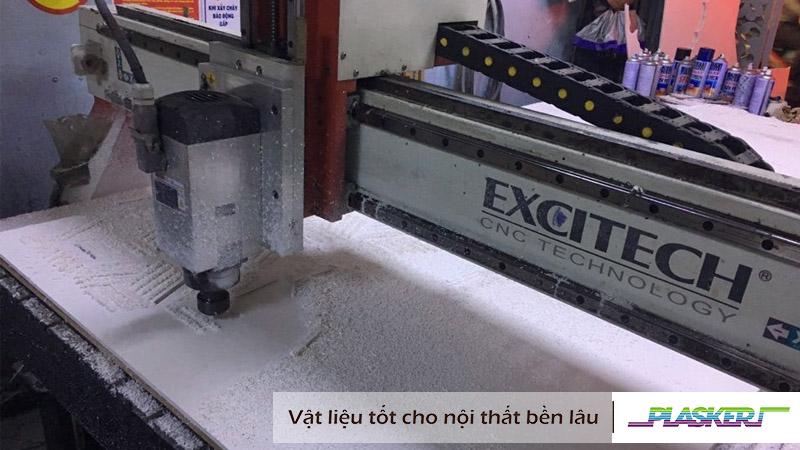 cắt khắc cnc tấm nhựa pvc Plasker