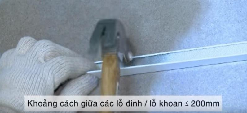 hướng dẫn thi công trần thả nhựa plasker