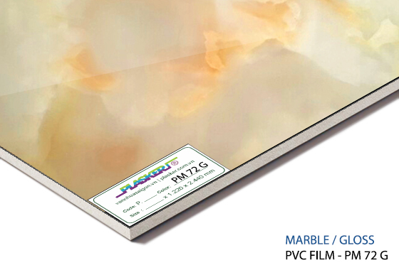 tấm nhựa vân đá pvc - PM72G