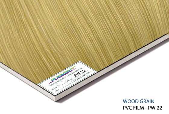 tấm nhựa vân gỗ pvc - PW22