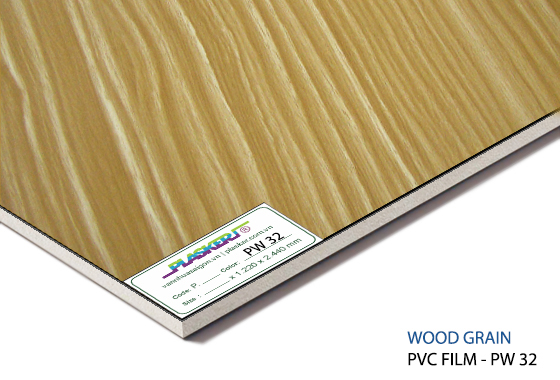 tấm nhựa vân gỗ pvc - PW32
