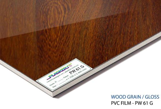 tấm nhựa vân gỗ pvc - PW61G
