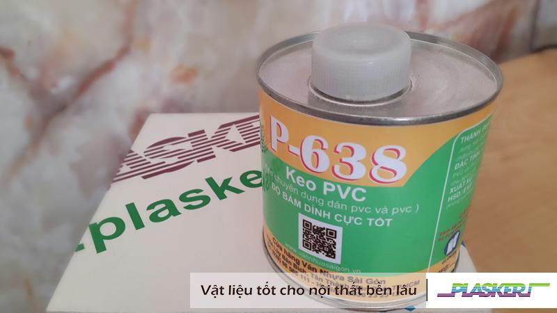 hướng dẫn sử dụng keo p-638
