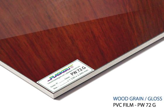 tấm nhựa vân gỗ pvc - PW72G
