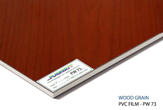 tấm nhựa vân gỗ pvc - PW73