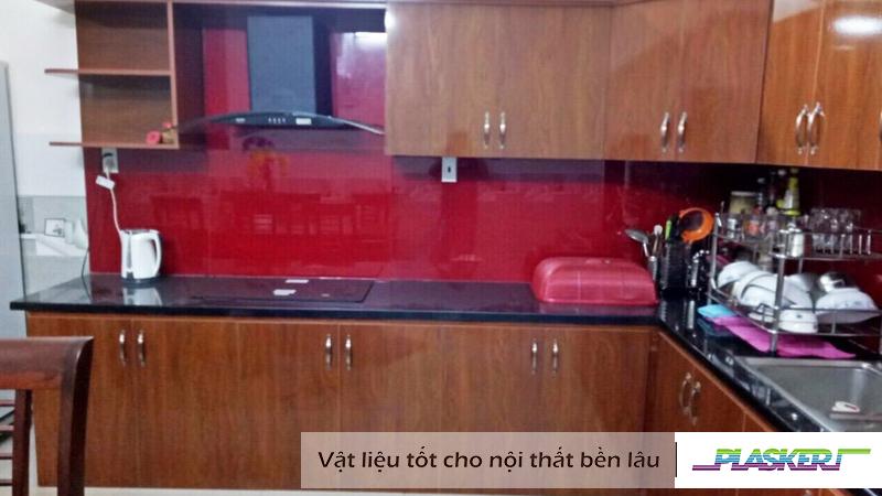 tủ bếp nhựa vân gỗ pw-61g