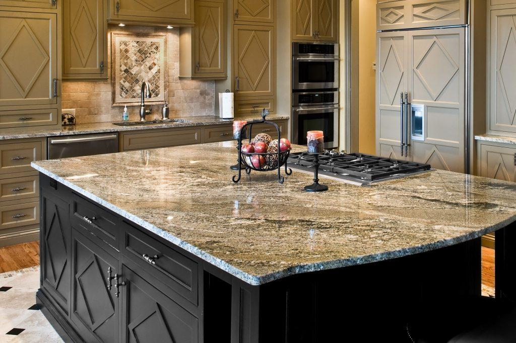 chọn vật liệu thích hợp cho mặt bếp nhà bạn