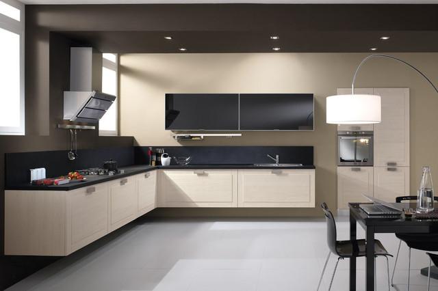 tủ bếp nhựa pvc kết hợp cùng đá granite