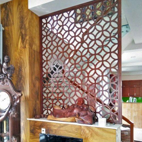 vách ngăn nhựa giả gỗ đẹp và hiện đại