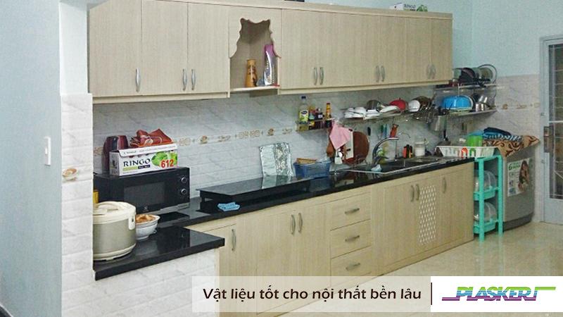 báo giá tủ bếp nhựa pvc plasker