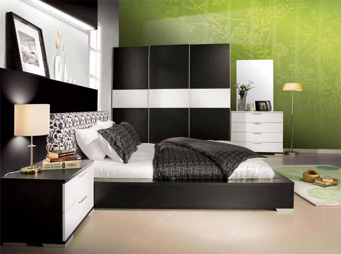 nội thất hiện đại | nội thất với tông màu trắng và đen