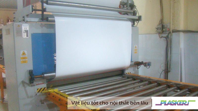 công nghệ hot melt - pur phủ vân bề mặt ván gỗ và ván nhựa pvc