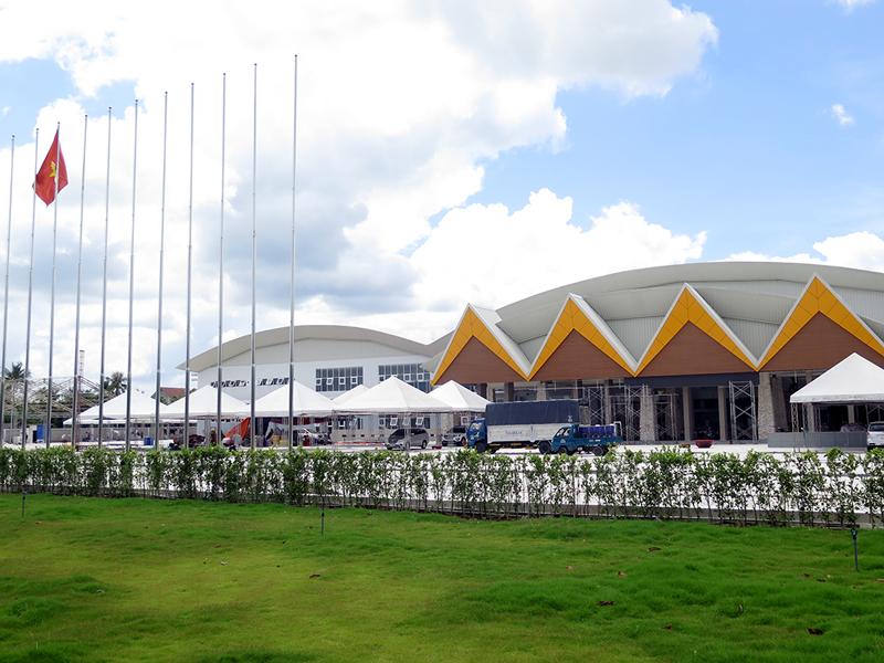 trung tâm thương mại triển lãm và hội nghị quốc tế VN - ITECC